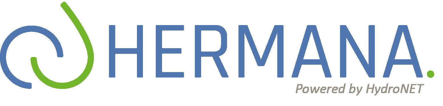 Logo HERMANA_powered by HydroNET_V02
